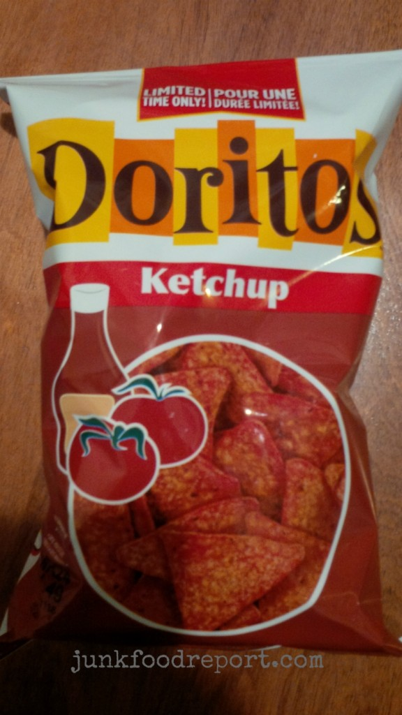 doritos ketchup bag