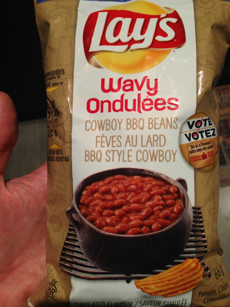 Review: Cowboy BBQ Beans Wavy Lay's – Do Us A Flavour
