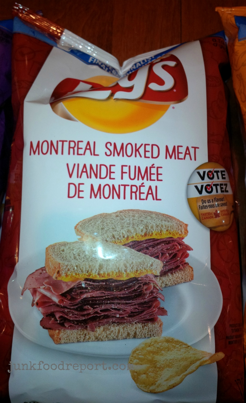 Review: Montreal Smoked Meat Chips – Lay's Do Us a Flavour