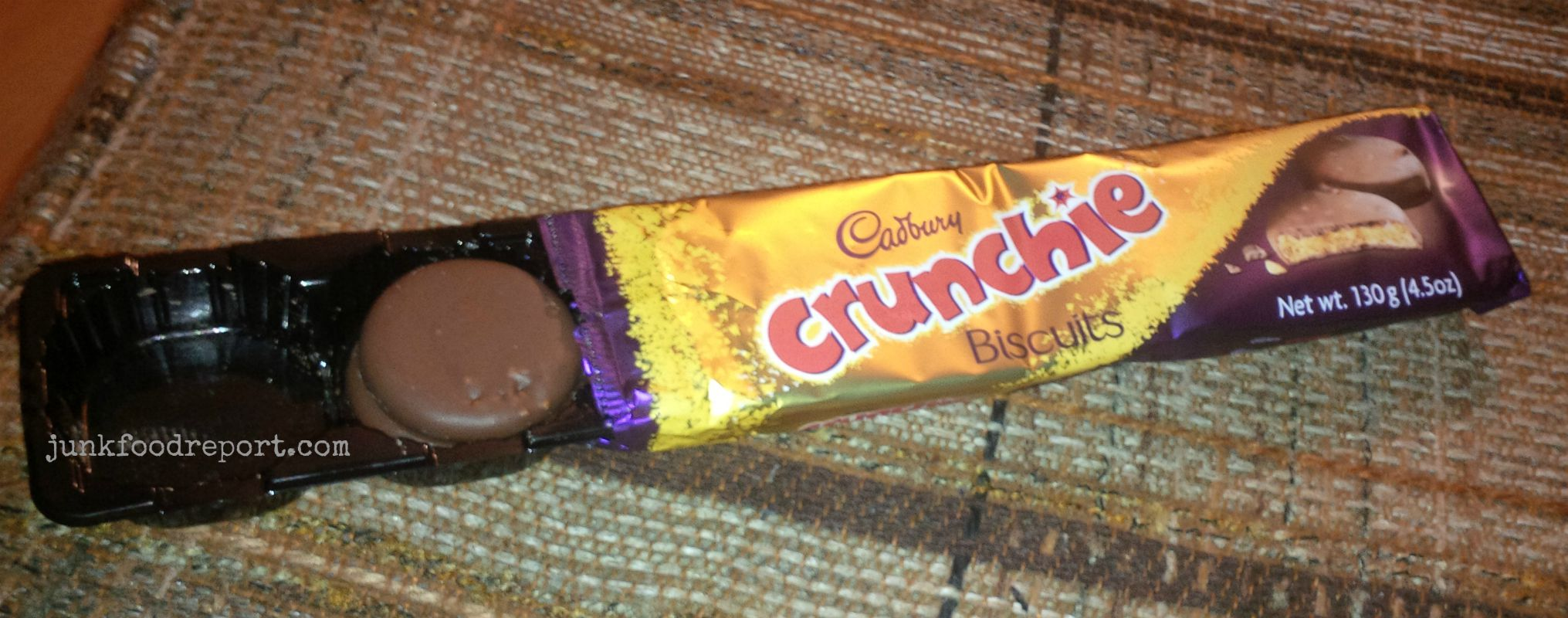 Cadbury's Crunchie Biscuits