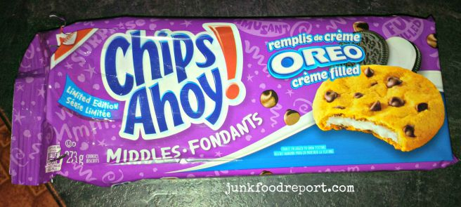 Review: Chips Ahoy! Middles – Oreo Creme Filled