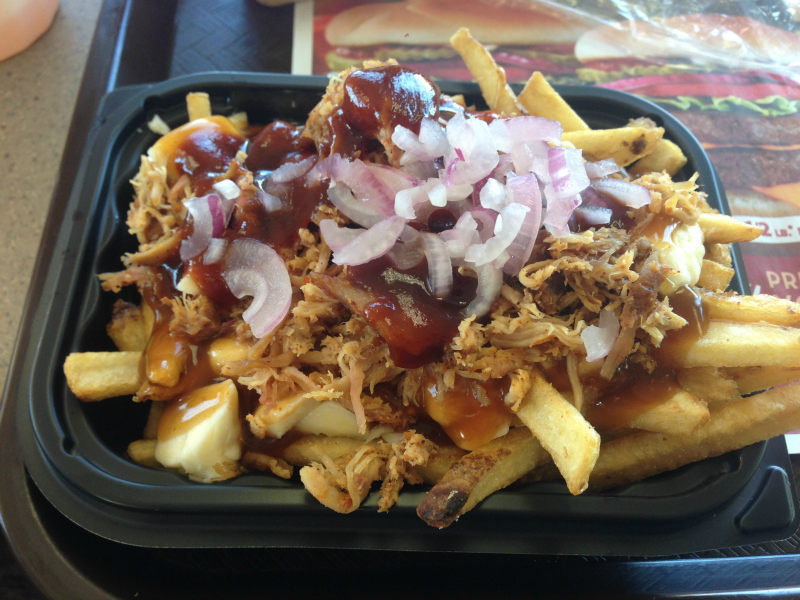 Wendy's Pulled Pork Poutine
