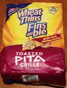 Review: Wheat Thins Garlic & Herb Toasted Pita