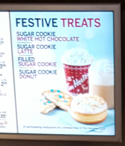 Tims Festive Treats