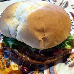 Harvey's Chili Fest Original Burger