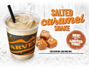 Harvey's Salted Caramel Shake