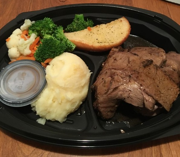 Review: Swiss Chalet Rotisserie Beef Dinner