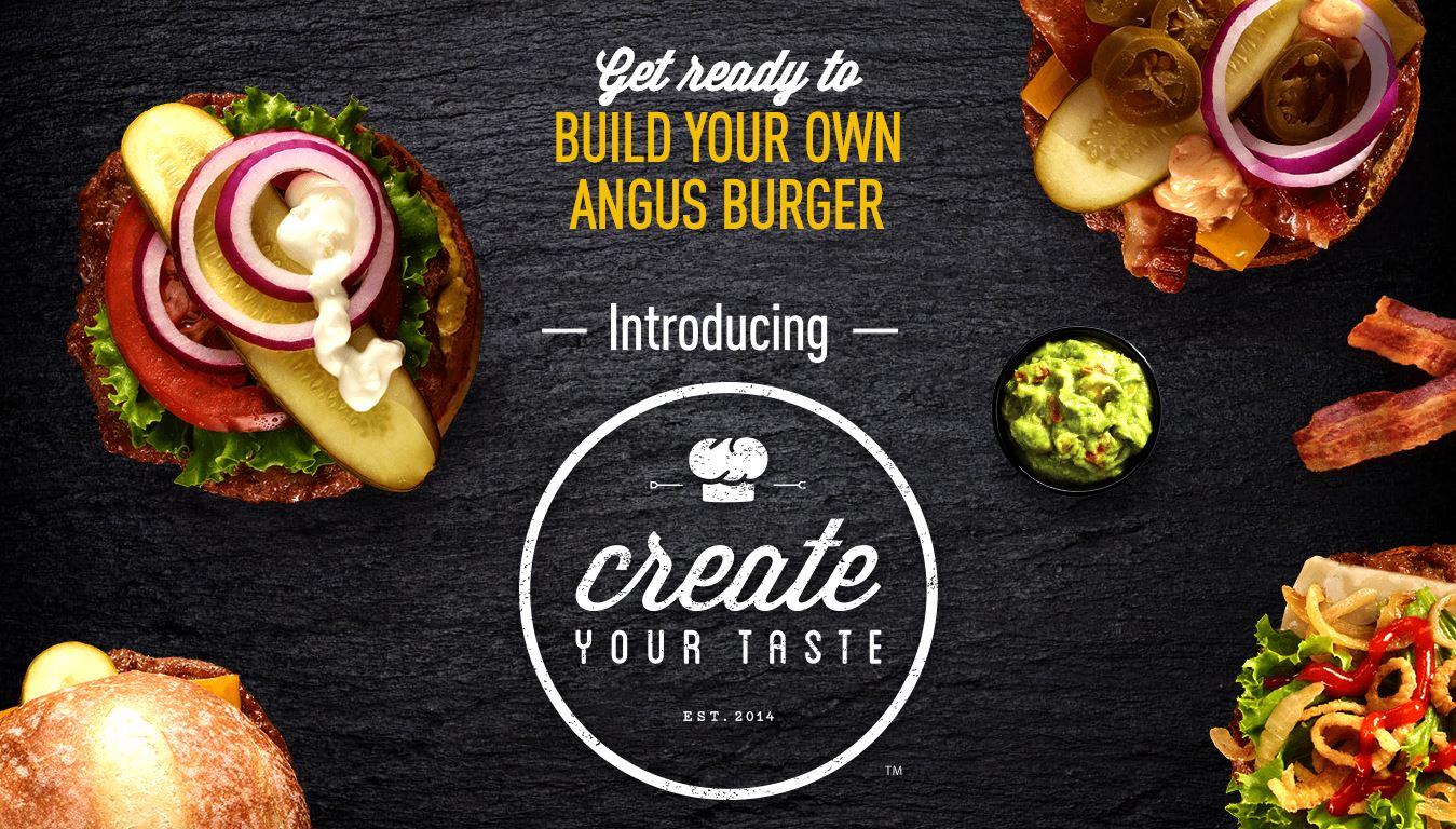 Create Your Tastes
