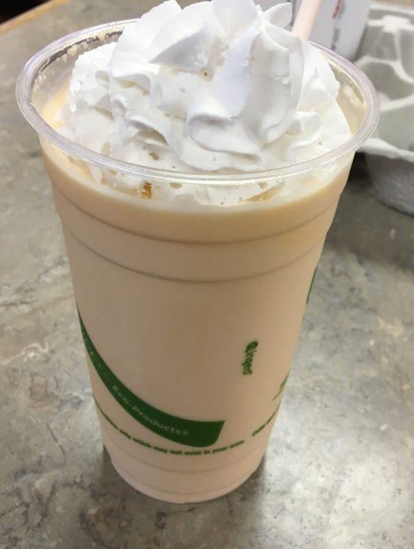 Review: Arby's Orange Cream Shake
