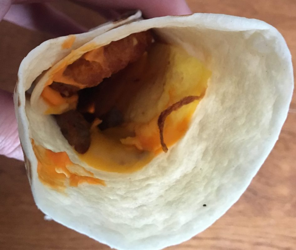 Review: Tim Horton's Farmer's Breakfast Wrap