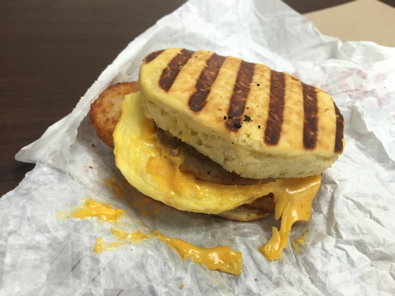 Tim Hortons Farmers Breakfast Sandwich