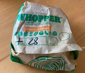 Review: Burger King Impossible Whopper