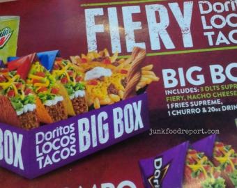 Review: Taco Bell Fiery Doritos Locos Tacos