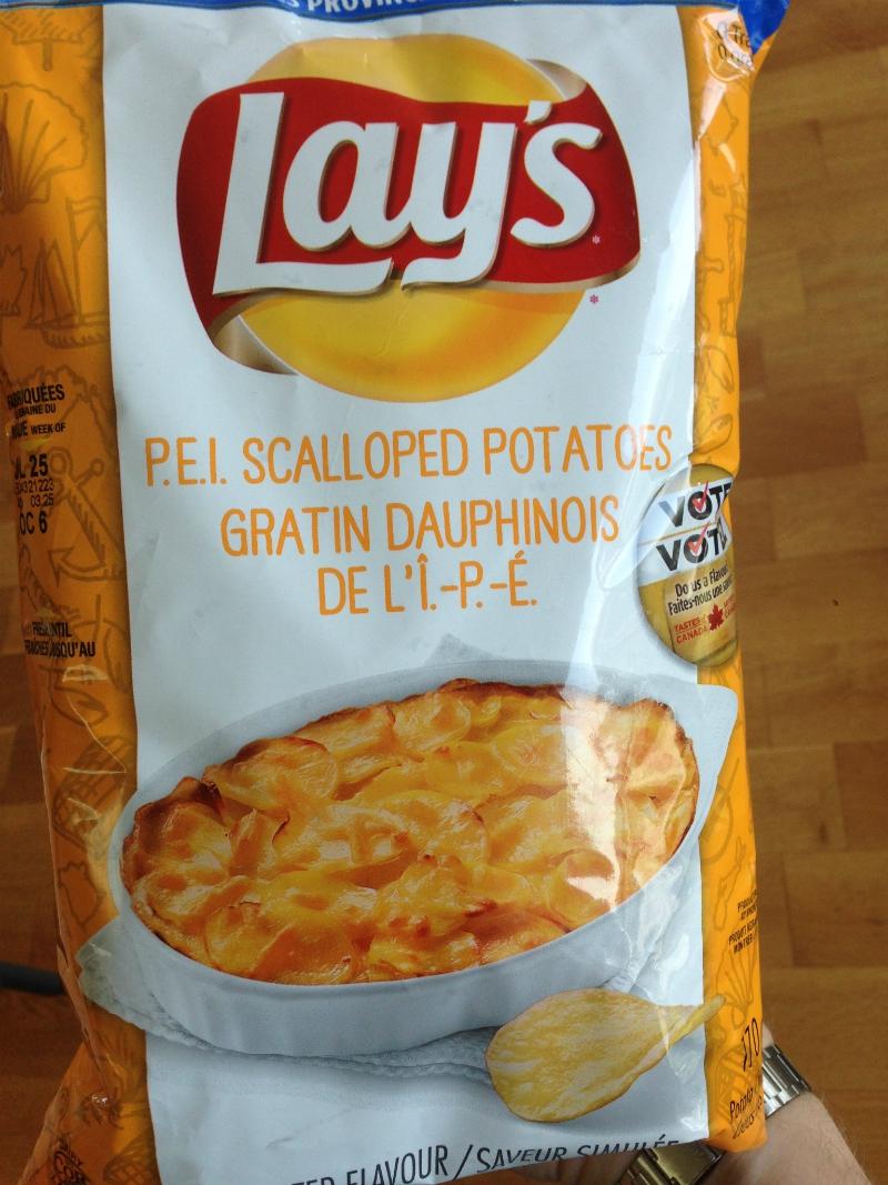 Review: P.E.I. Scallop Potatoes – Lay's Do Us A Flavour