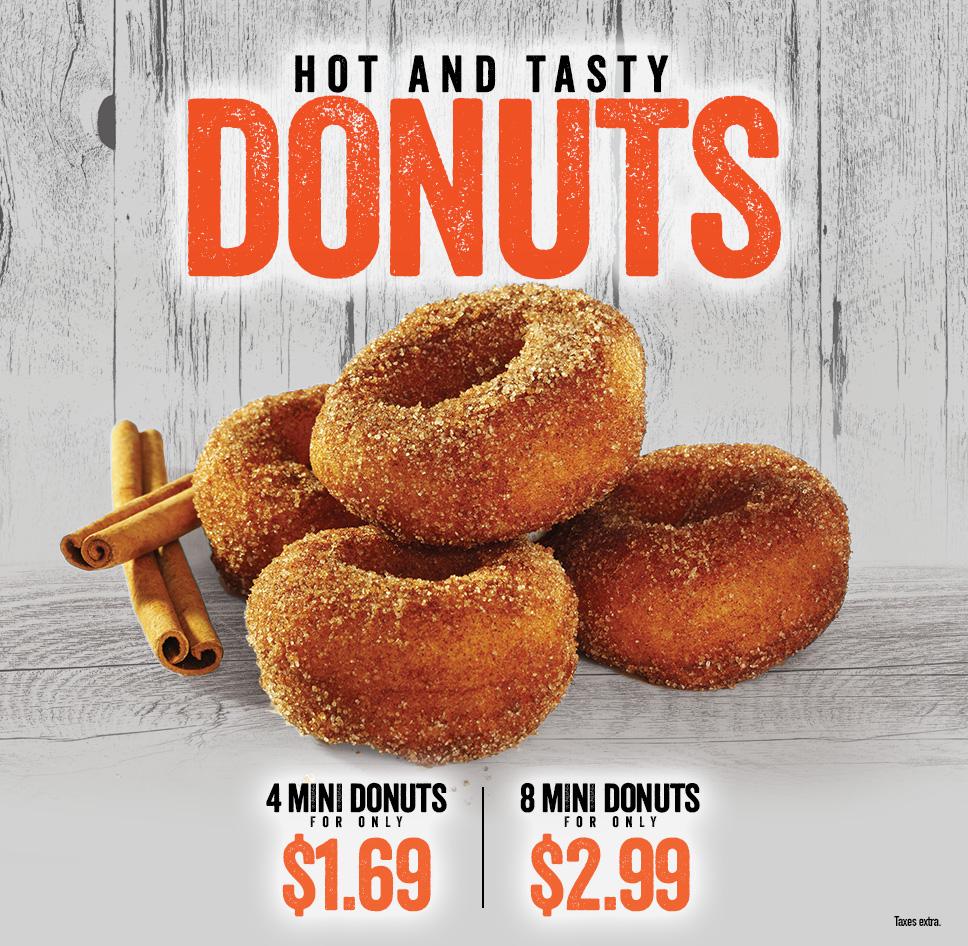 Review: Harvey's Cinnamon & Sugar Donuts
