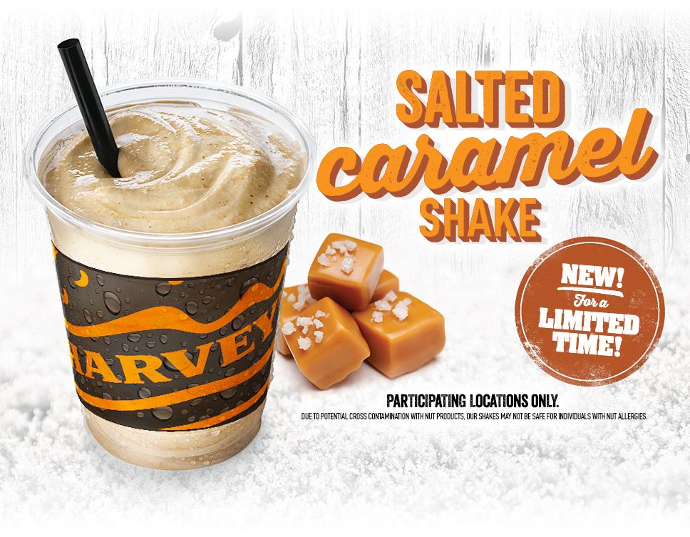 Review: Harvey's Salted Caramel Shake