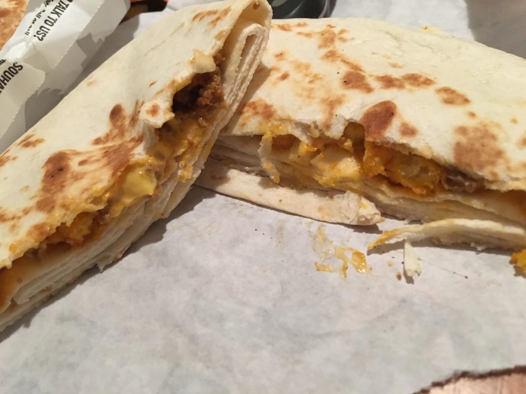 Review: Taco Bell Cheetos Crunchwrap Slider – Supreme